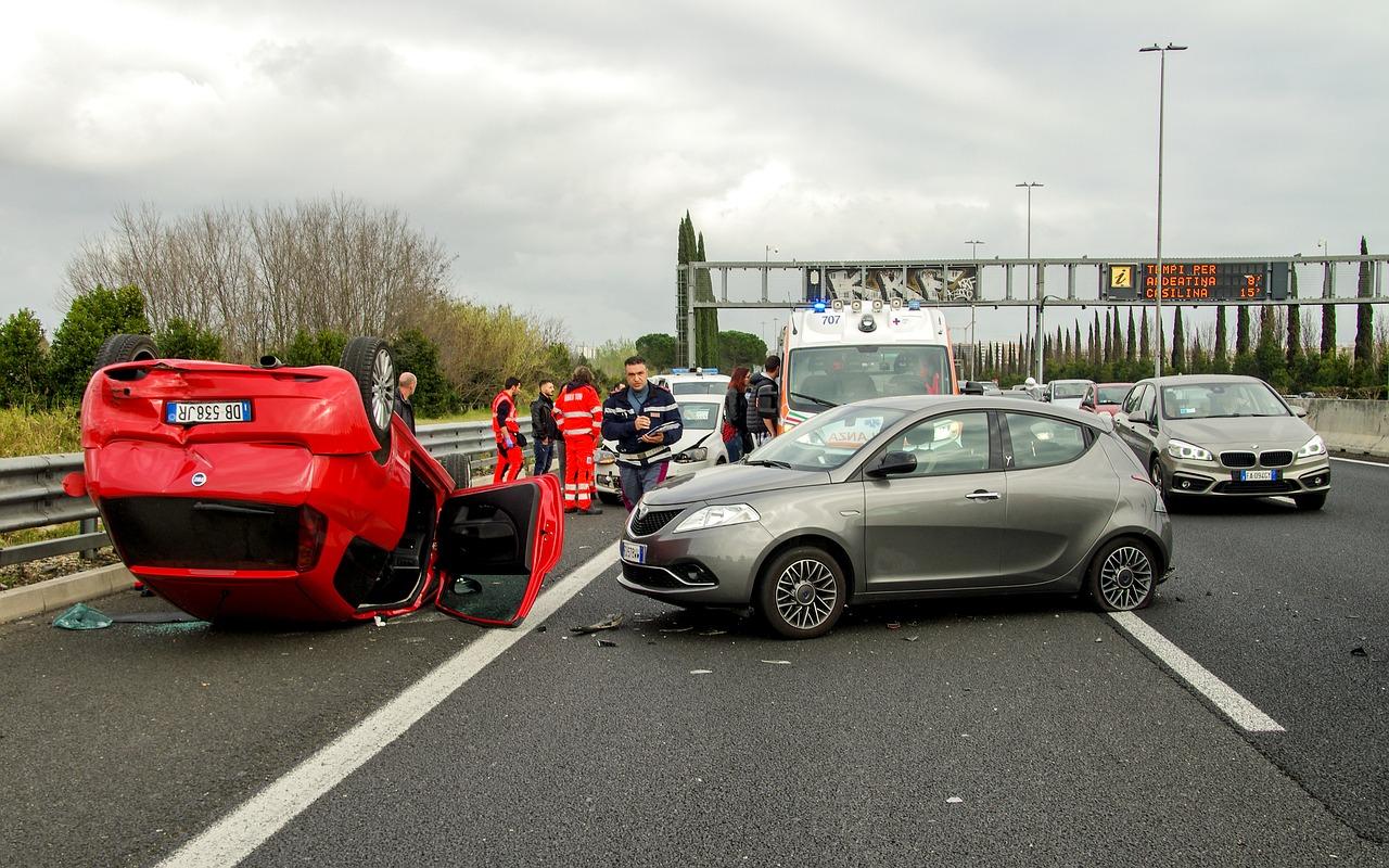 Unfall mit mehreren Verkehrsverstößen