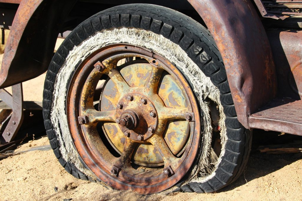 abgefahrene Reifen Bußgeld
